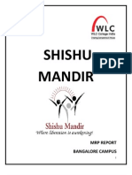 MRP Report Shishu Mandir