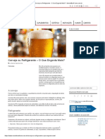 Cerveja Ou Refrigerante - O Que Engorda Mais_ - MundoBoaForma.com.Br
