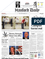 The Stanford Daily, Nov. 3, 2010
