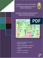 2do Informe Geoquimica aplicada