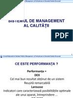 1 Sistemul de Management Al Calitatii