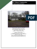 Inspection Report 15242 Jones Rd. White City