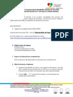 Instructivo Ingreso Evaluacion de Desempeno Laboral a La Plataforma Del Humano