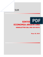 economia argentina 2010