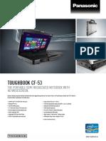 2. Laptop. Panasonic. DataSheet