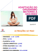 Alteracoes Fisiologicas Na Gravidez