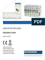 S400 Servo Drive Quick Start Guide En