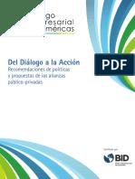 Informe Dialogo Empresarial de Las Americas 2015