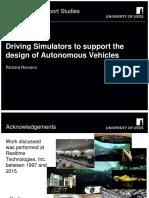 drivingsimulatorstosupportthedesignofautonomousvehicles-160302163658 (1)
