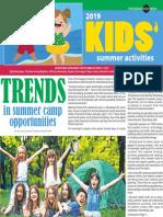 Kids' Summer Activities 2019