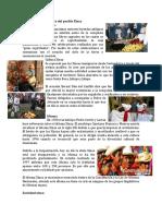 Elementos de la cultura del pueblo Xinca