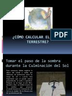 Calcular El Radio Terrestre(1)