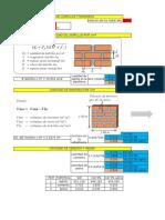 Excel Para El Calculo de Ladrillo y Mortero 01