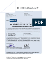 11-1518 Schneider Electric ION8650 Certificate