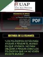 Expo de La Filososfia Presocratica