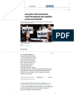 Organizações Internacionais aprovam documento contra Escola Sem Partido