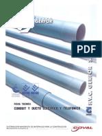 MANUAL GERFOR DE TUBERIA PVC PARA ELECTRICIDAD.pdf