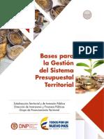 Bases Para La Gestión Del Sistema Presupuestal en Colombia 2017