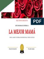 DIPLOMA PARA MAMÁ 07