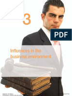 Chapter 3Influences in the Business Environment