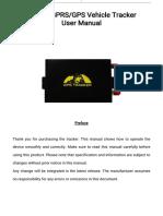 GPS105 USER MANUAL-V1.5-170428