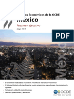 OECD Economic Survey for Mexico May 2019 Executive Summary SP