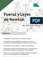Clase 06-08 Fuerza y Leyes de Newton