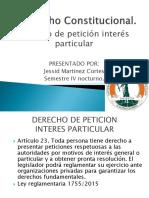 Derecho de Peticion Diapositivas