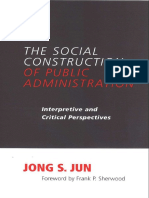 PUBLIC ADMINISTRATION The social construction of public administration  interpretive and critical.pdf