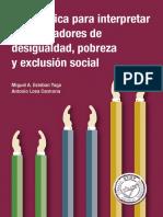 Guia Basica Indicadores Desigualdad Pobreza y Exclusion Social