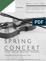 2019 Spring Concert B&W