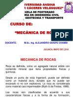 Diapositiva Mec. de Rocas