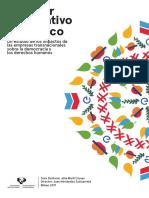 El Poder Corporativo en Mexico Estudio de Los Impactos de Las Empresas Transnacionales Sobre La Democracia