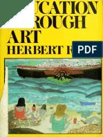Herbert Read - Education through art.pdf