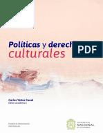 Políticas y Derechos Culturales