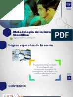 Semana 9- Sesión 9 - Tipos  Diseños.pptx