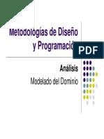 06 Analisis Modelado Del Dominio