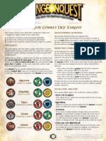 Alternate Combat Dice Variant