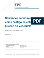 Sanciones económicas como castigo colectivo