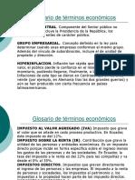 3.2 Glosario de Términos Económicos (G-Pror)