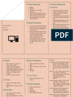 cuin ergonomics brochure