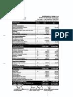 Estados Financieros 2018 Quirofanos El Tesoro Con Notas
