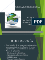 Introduccion a La Hidrologia