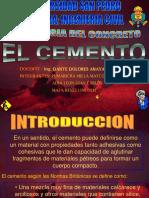 EL CEMENTO EXPOSICION.ppt