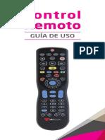 Manual Control Remoto Aconcagua