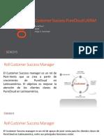 Customer Success Rol Spanish 2018
