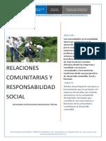 Relaciones Comunitarias y Rse-1