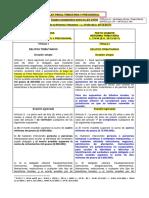 Cuadro Comparativo Ley 24.769 y Ley 27.430 Régimen Penal Tributario y Previsional
