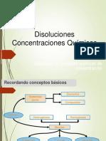 concentraciones quimicas