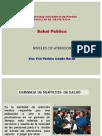 Salud Publica-Niveles de atencion